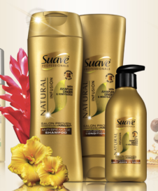 Free Suave FREE Sample: Suave Professionals Natural Infusions