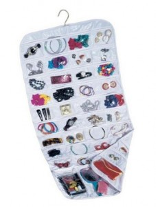 Household Essentials 80-Pocket Hanging Jewelry and Accessories Organizer