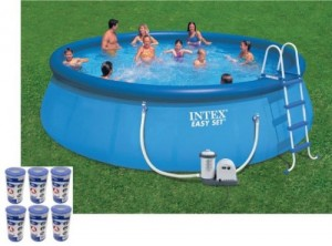 Intex Pool 300x222 Above Ground Swimming Pool Clearance!!  *Super Hot* Intex 15 x 48 Metal Frame Swimming Pool $159 (Reg $399)