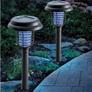 Journey's Edge Solar Decorative LED Light and Bug Zapper