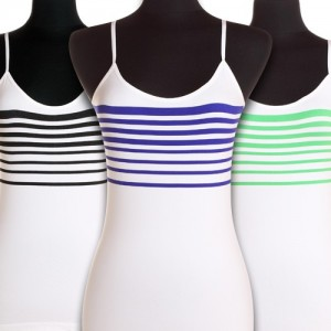 Ladies Advanced Seamless Tank Tops with Adjustable Straps