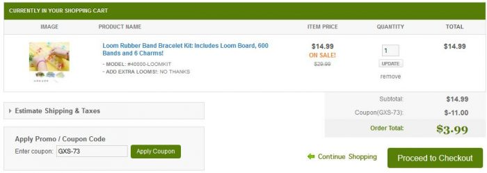 Loom Rubber Band Bracelet Kit Includes Loom Board, 600 Bands and 6 Charms!
