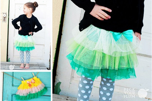 Ombre Tutu Skirts
