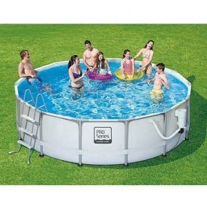 ProSeries Swimming Pool 300x300 Above Ground Swimming Pool Clearance!!  *Super Hot* Intex 15 x 48 Metal Frame Swimming Pool $159 (Reg $399)
