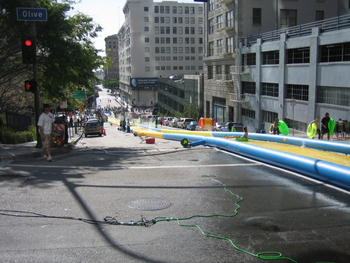 Slide the City Waterslide