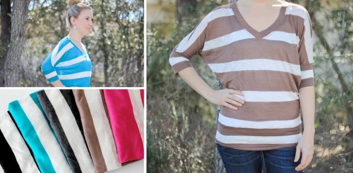 Striped Dolman