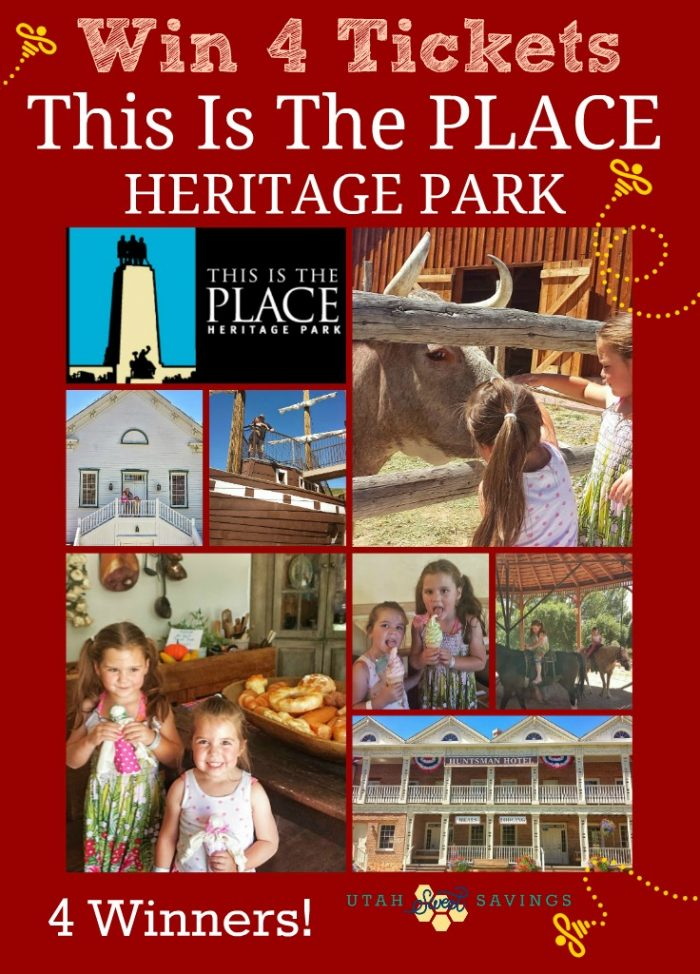 This is the Place Heritage Park Utah Giveaway