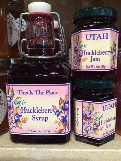 This is the Place Huckleberry Syrup