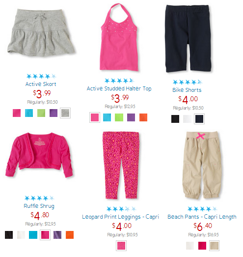 childrens place clearance blowout