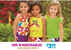 childrens place matchables