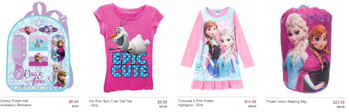 Disney Frozen Sale at Zulily! CUTE Nightgowns, Sleeping Bags ...