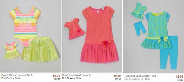 dollie and me zulily sale