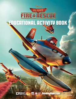 fire and rescue educational activity book