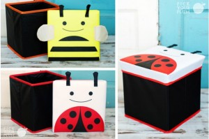 foldable storage seat with lid