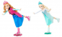 frozen elsa and anna ice skating dolls