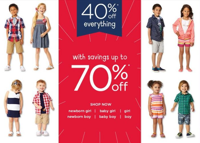 gymboree july 4th sale