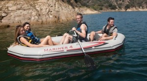 intex mariner 4 person inflatable boat