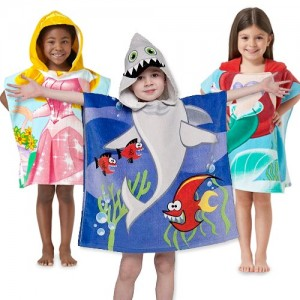 kids hooded towels