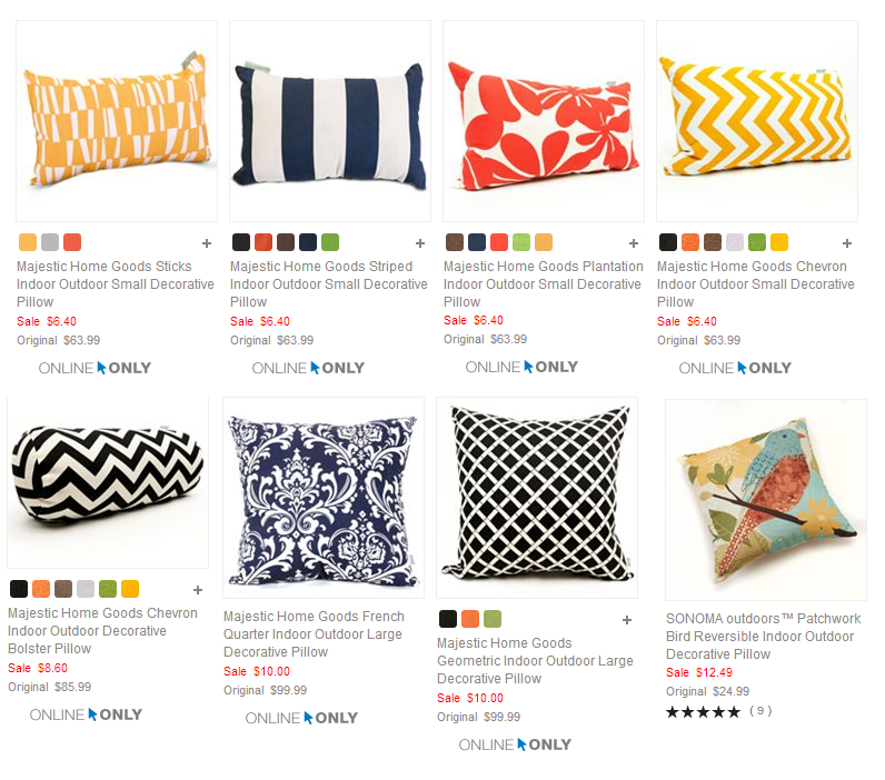 Josetta Decorative Pillow : kohls pillows - 100 images - tips coral pillows toss pillows kohls pillows, 2 79 reg 12 bath ...