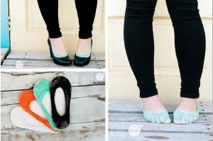 lace peek-a-boo socks