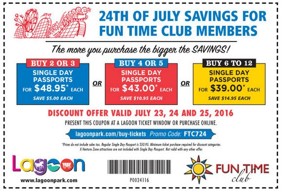 lagoon pioneer day coupon