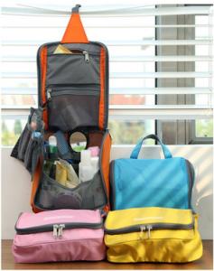 multi pocket portable travel bag