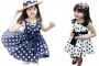 polka dot girls dress