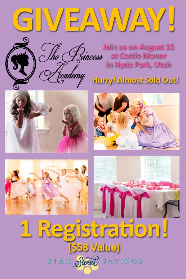 princess academy giveaway