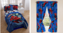 spiderman comforter and drapes