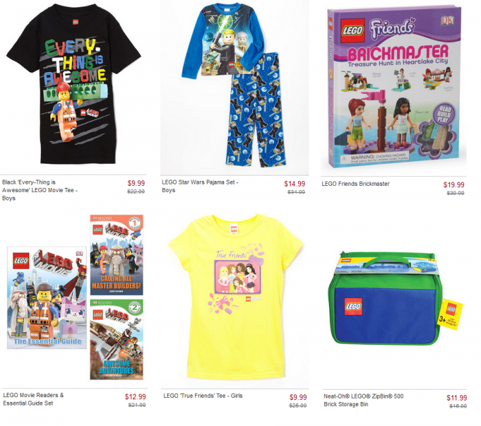 zulily lego collection sale