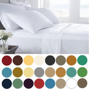 1800 Count Deep Pocket 6 Piece Bed Sheet Set 300x300 1800 Count Deep Pocket 6 Piece Bed Sheet Set from $13.99 Shipped! *Twin to Cal King*