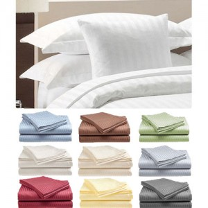 2 PACK Hotel Life Deluxe 100 Cotton Sateen Sheet Set