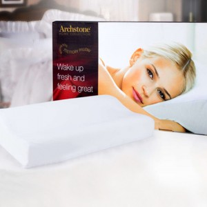 Archstone Home Collection Body Soul Memory Foam Pillows Memory Foam Pillows 21x13, 2 Pack for $19.99 Shipped!