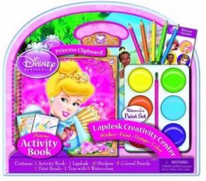 Artistic Studios Disney Princess Activity Lapdesk with Jumbo Paints 300x264 Disney Princess Activity Lapdesk for $11.39!