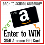 Back to School Amazon Gift Card Giveaway