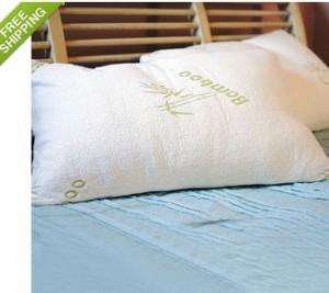 Bamboo Memory Foam Hypoallergenic Pillow 300x267 Bamboo Memory Foam Hypoallergenic Pillow for $19.99 Shipped!