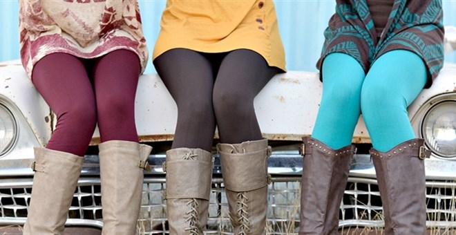 Curvy Fleece lined leggins