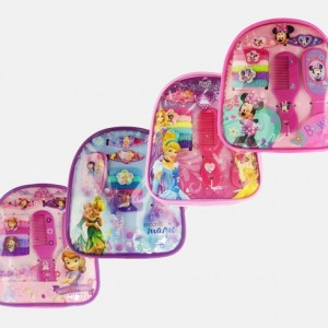 Disney Kid's Hair Accessories with Mini Backpack