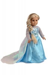 Elsa Frozen American Girl Costume