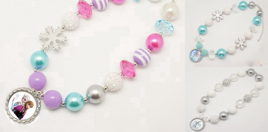 Frozen Chunky Necklaces