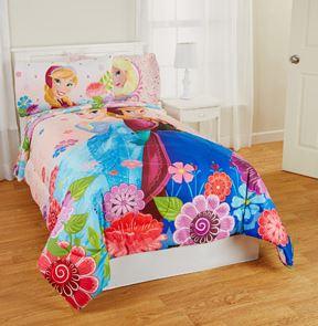 Frozen Floral Breeze Twin Full Reversible Bedding Comforter Disney Frozen Celebrate Love Comforter, Twin for $26.39 (Reg $70.99)!