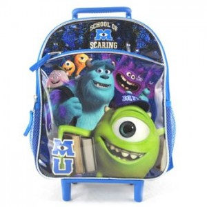 Rolling Backpacks $9.79   Monsters Inc, Doc McStuffins, Iron Man, and MORE!