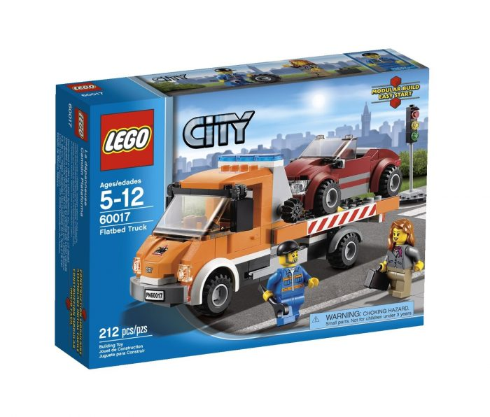 Lego Flatbed Truck