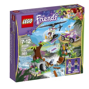 Lego Friends Jungle Bridge 300x300 LEGO Friends Jungle Bridge Rescue Building Set $24.97 (Reg $29.99)