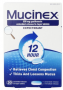 Mucinex 12-Hour Chest Congestion Expectorant Tablets, 20 Count