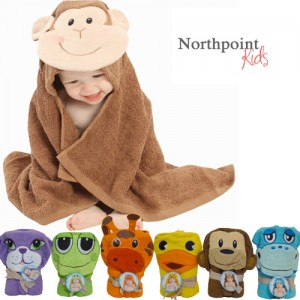 Northpoint Kids Cotton Animal Character Towels