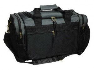 Sports Duffle Travel Gym Bag 300x226 Sports Duffle Travel Gym Bag $14.50 (reg $34.99)