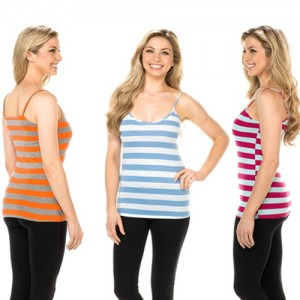 Striped Cami Tanks Striped Cami Tank Tops $3.12 each!  Free Shipping!