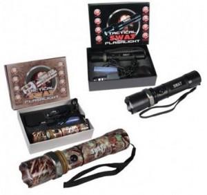 Tactical Water & Shock Resistant SWAT Flashlights