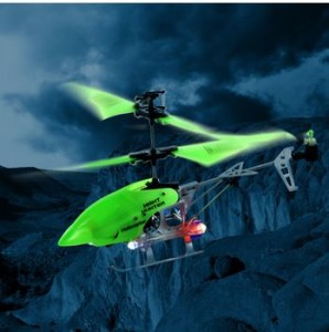 Xtreme Glow in the Dark Night Hunter Helicopter